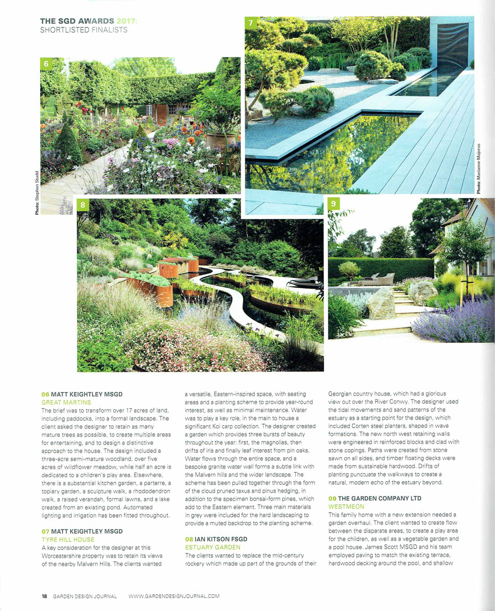 Garden design journal rosebank landscaping for Landscape design company