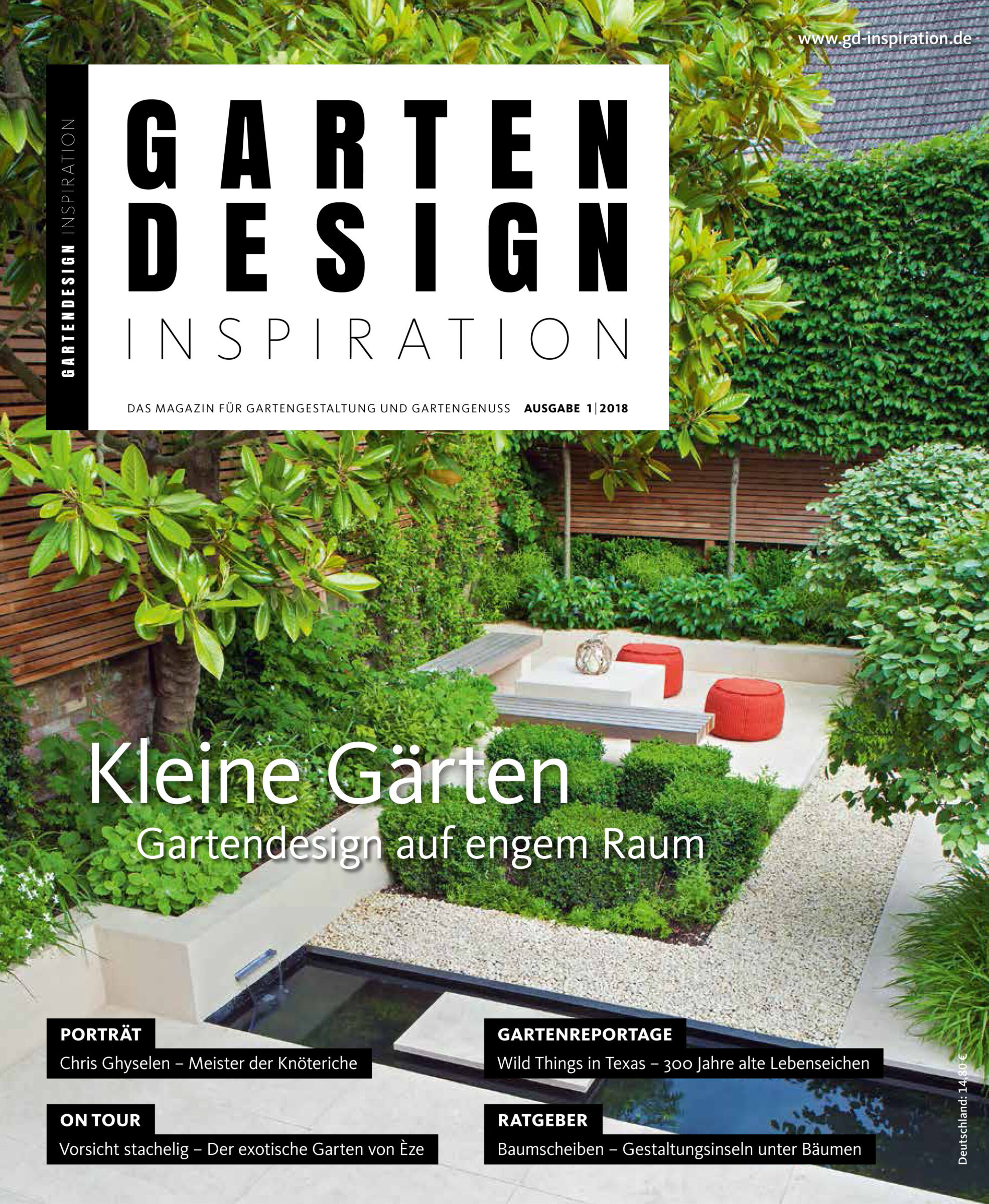 Gartendesign Inspiration 1 2018 Front Cover Copy Rosebank