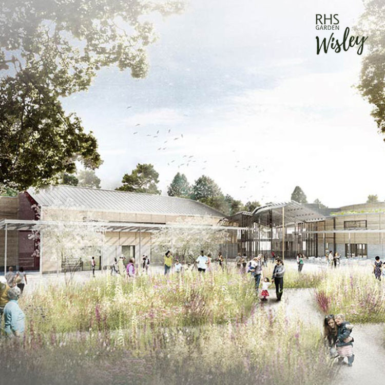 RHS Wisley Wellbeing Garden Design Revealed